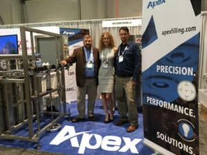 Pack Expo 2017 Apex Filling Systems Team