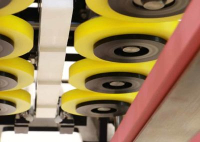 Spindle Wheels on Automatic Capping System