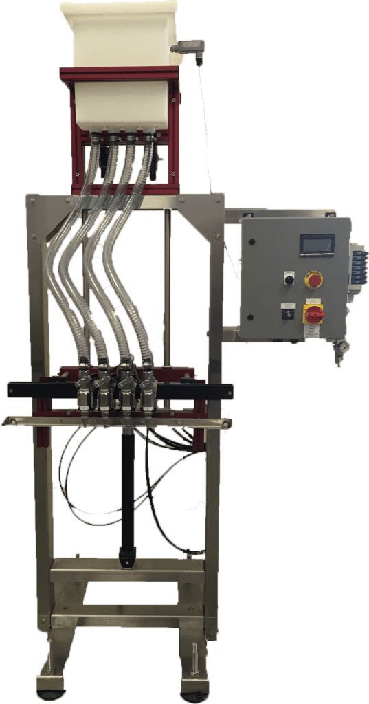 automatic gravity filler machine