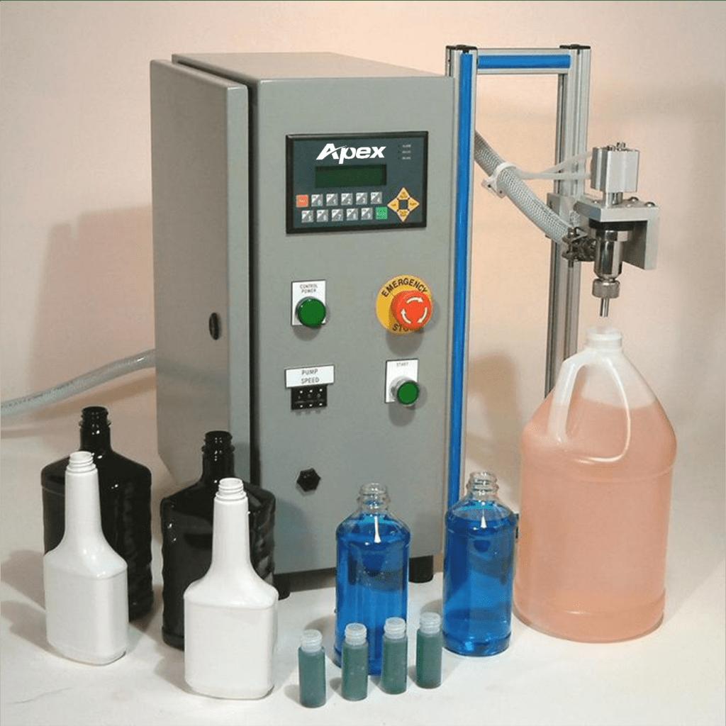 Semi-Automatic Tabletop Pump Filler